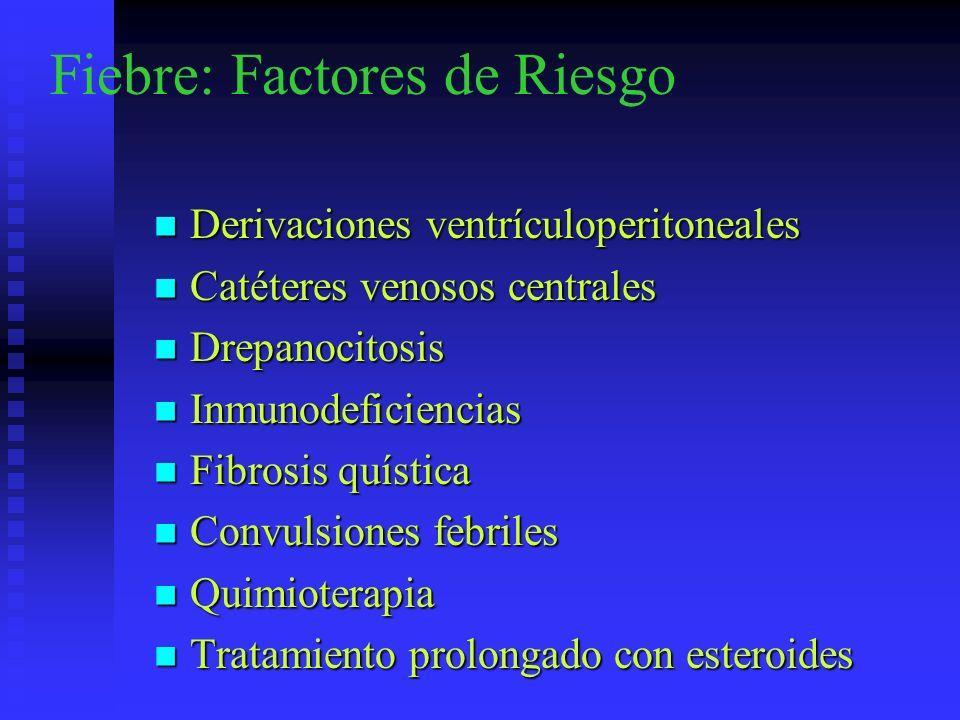 Fiebre: Factores de Riesgo