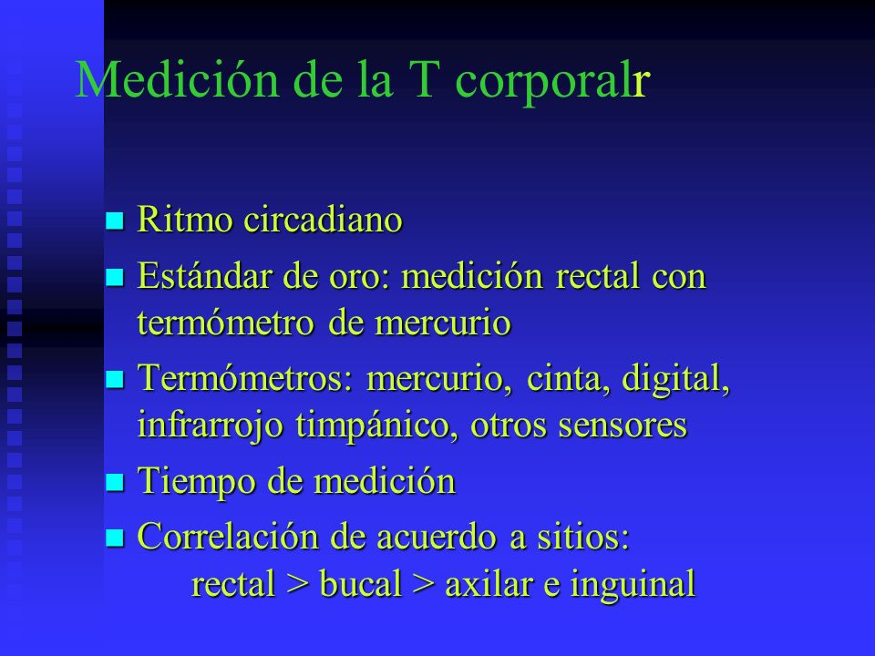 Medición de la T corporalr