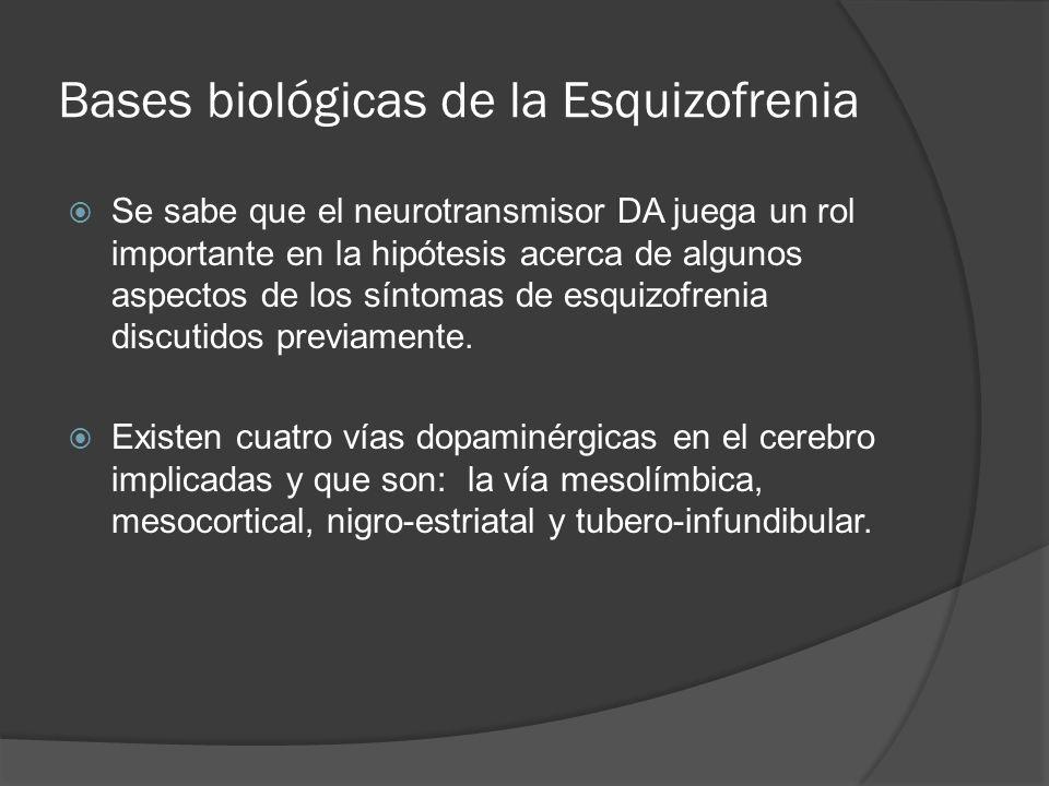 Bases biológicas de la Esquizofrenia