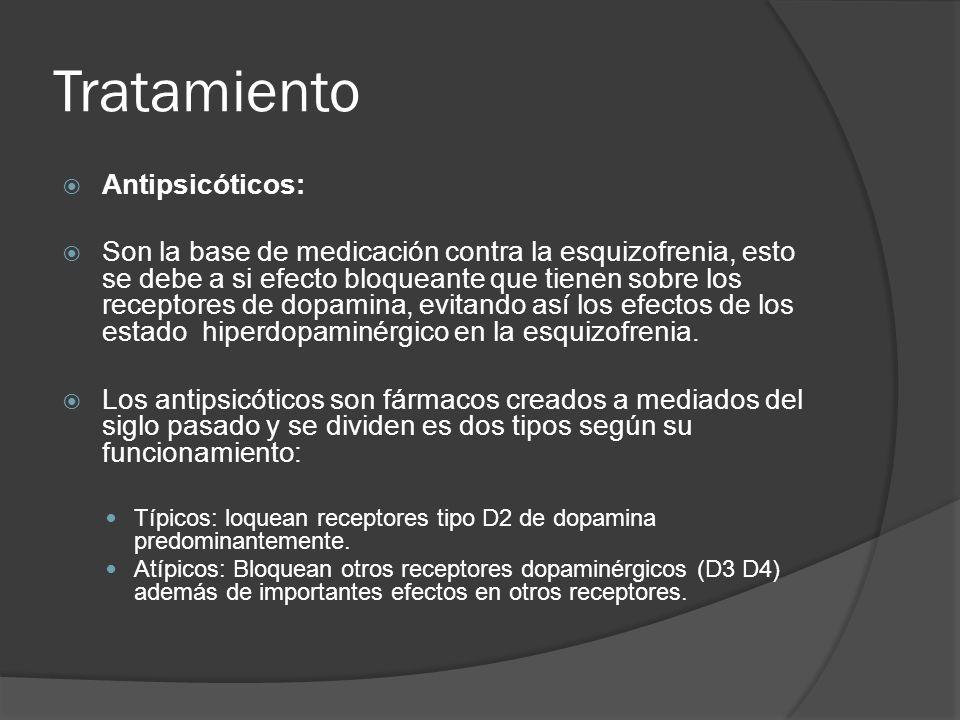 Tratamiento Antipsicóticos: