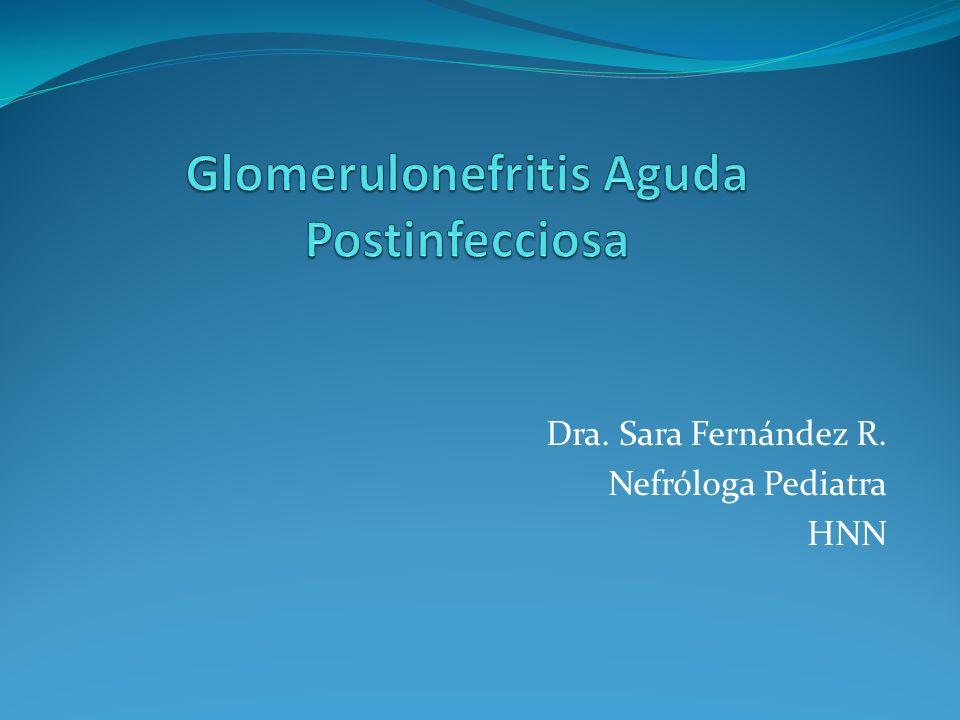 Glomerulonefritis Aguda Postinfecciosa