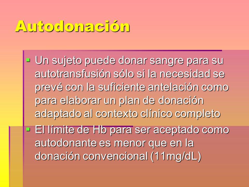 Autodonación