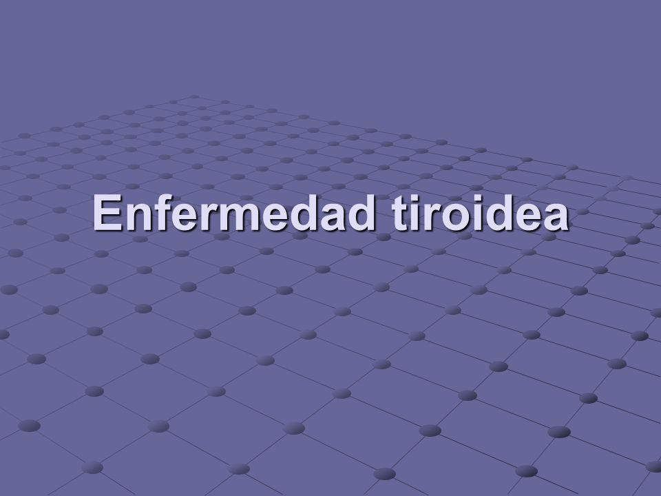 Enfermedad tiroidea