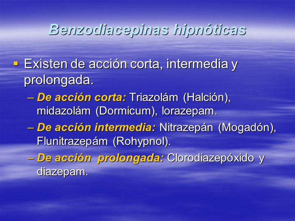 Benzodiacepinas hipnóticas