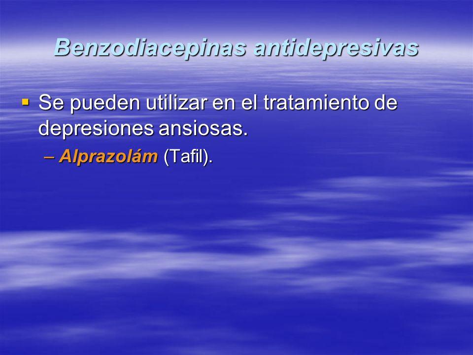 Benzodiacepinas antidepresivas
