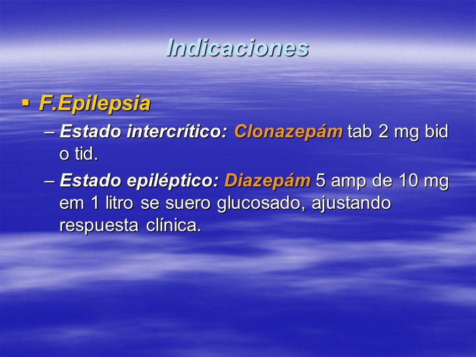Indicaciones F.Epilepsia