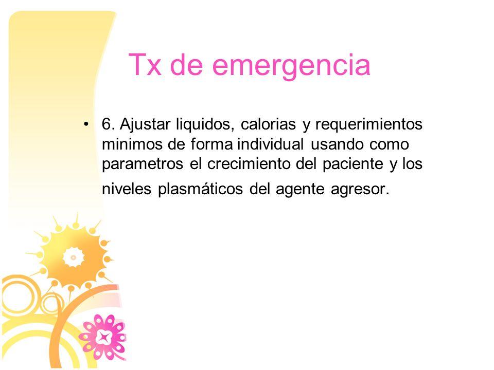 Tx de emergencia