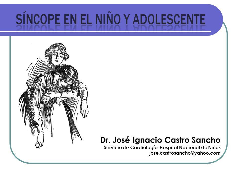 Dr. José Ignacio Castro Sancho