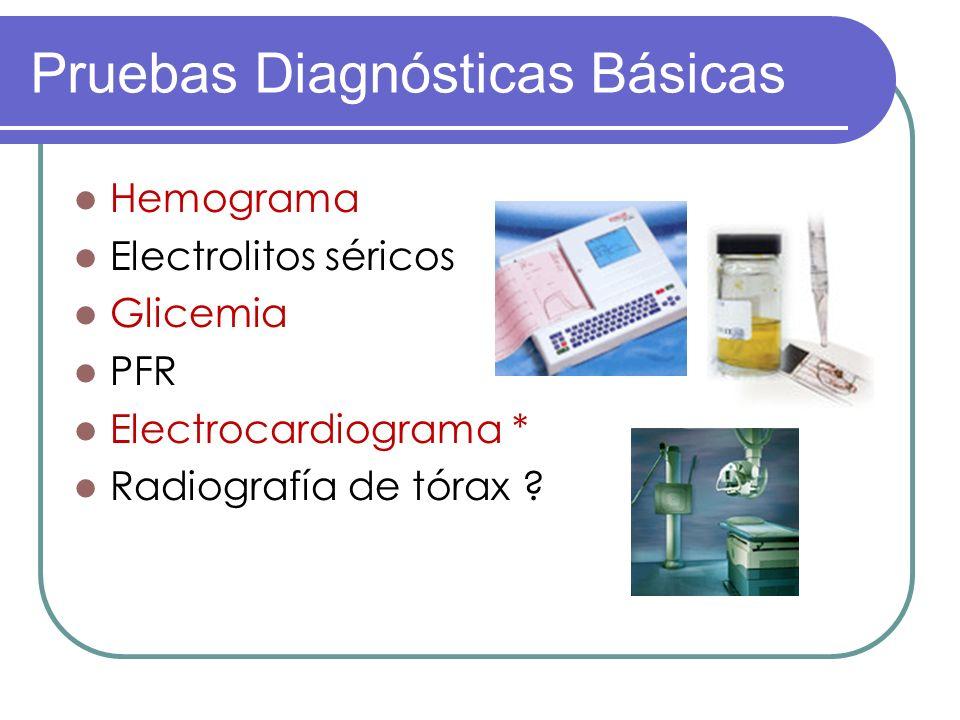 Pruebas Diagnósticas Básicas