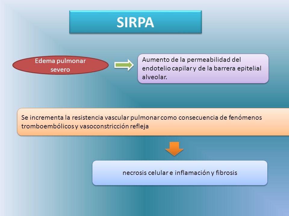 necrosis celular e inflamación y fibrosis