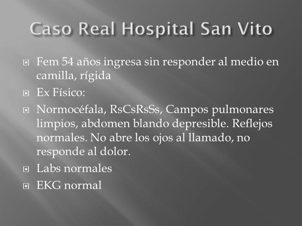 Caso Real Hospital San Vito