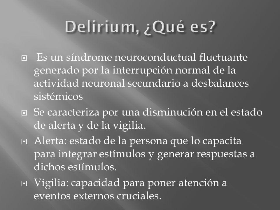 Delirium, ¿Qué es