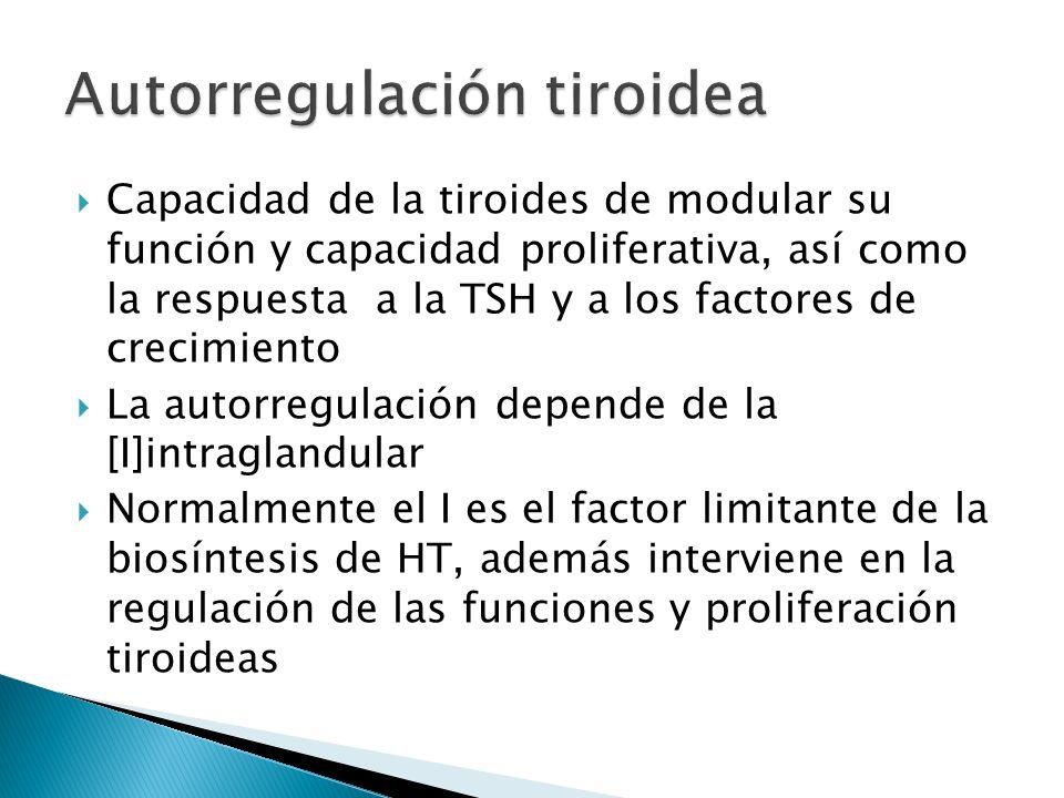 Autorregulación tiroidea