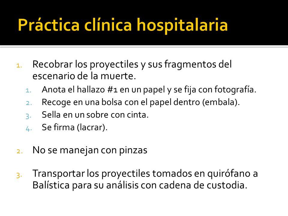 Práctica clínica hospitalaria
