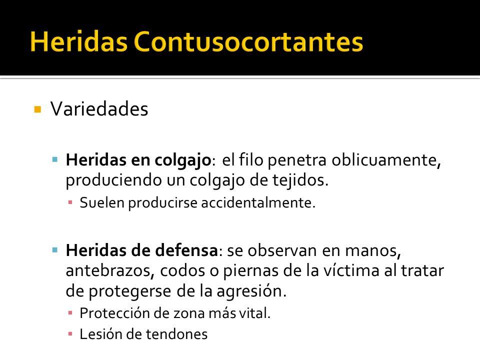 Heridas Contusocortantes