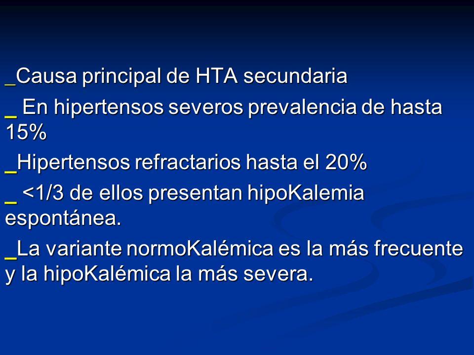 _Causa principal de HTA secundaria