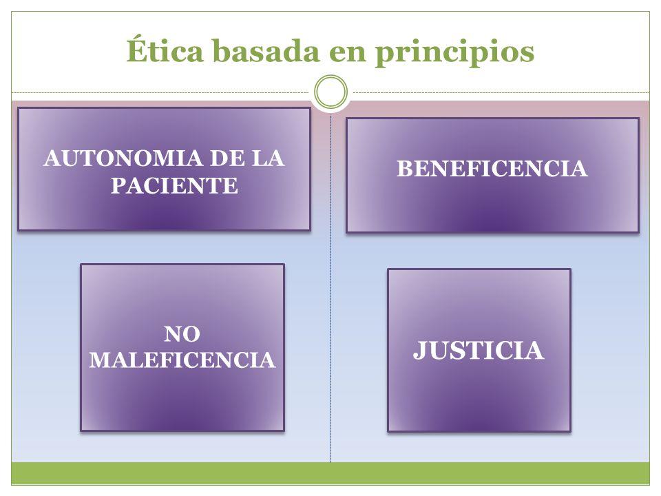 Ética basada en principios