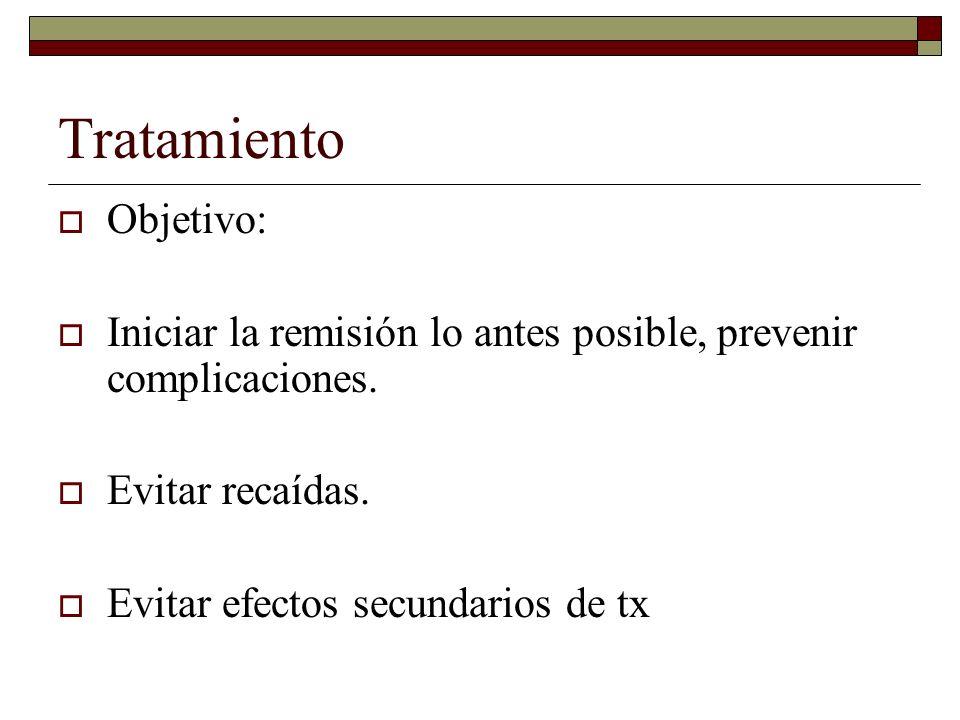 Tratamiento Objetivo: