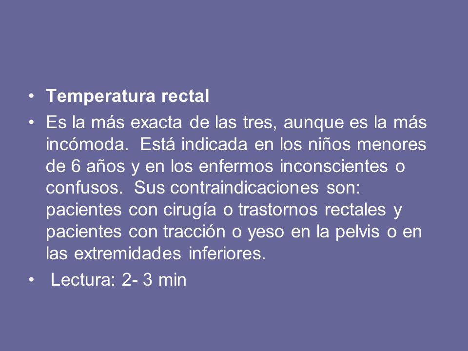 Temperatura rectal