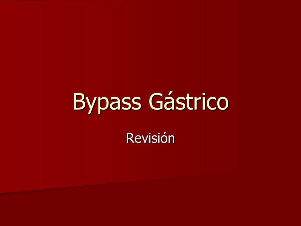 Bypass Gástrico Revisión
