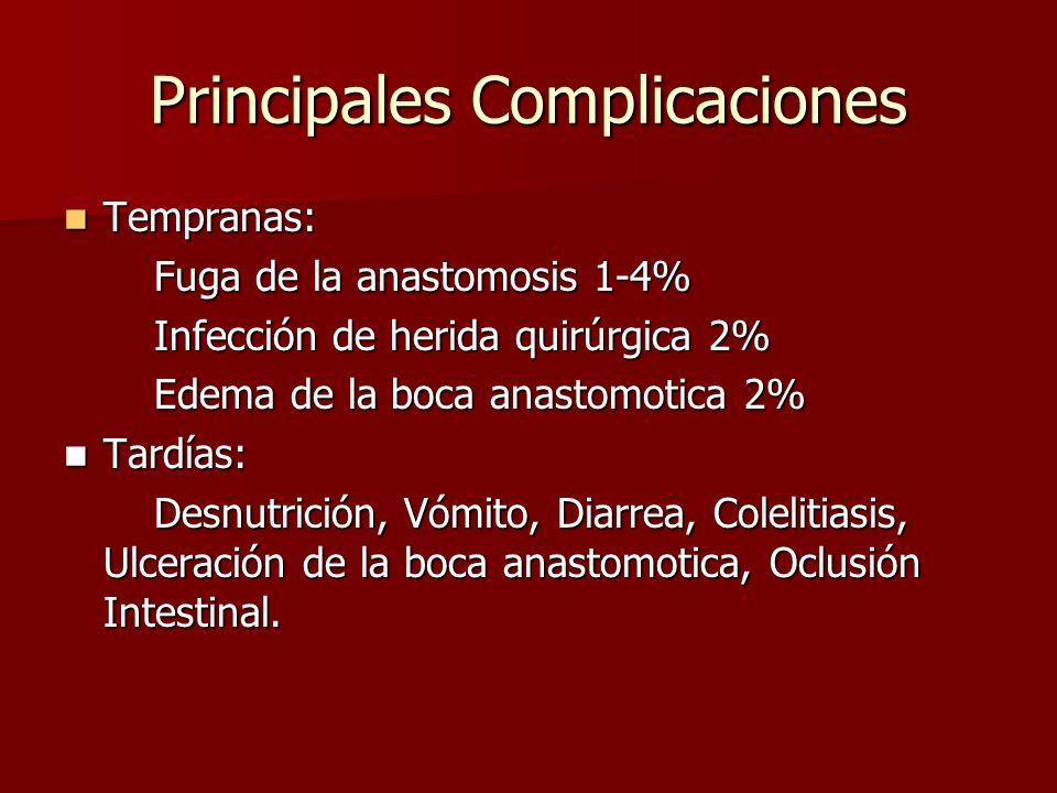 Principales Complicaciones