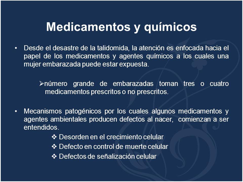 Medicamentos y químicos