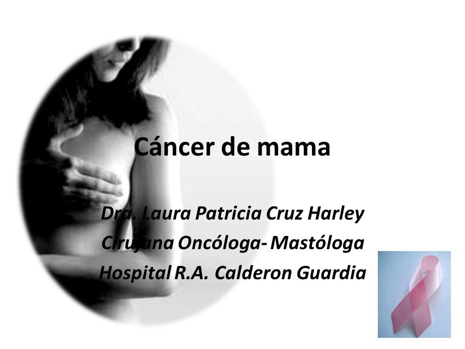 Cáncer de mama Dra. Laura Patricia Cruz Harley