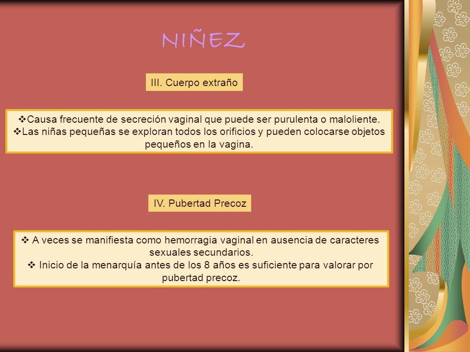 NIÑEZ III. Cuerpo extraño