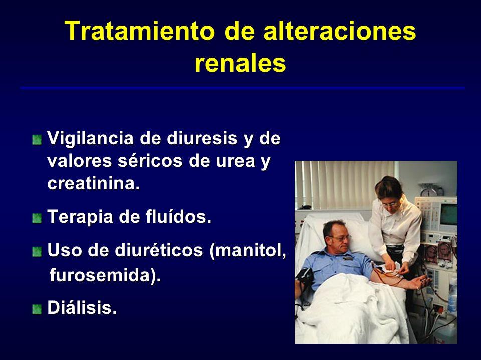 Tratamiento de alteraciones renales
