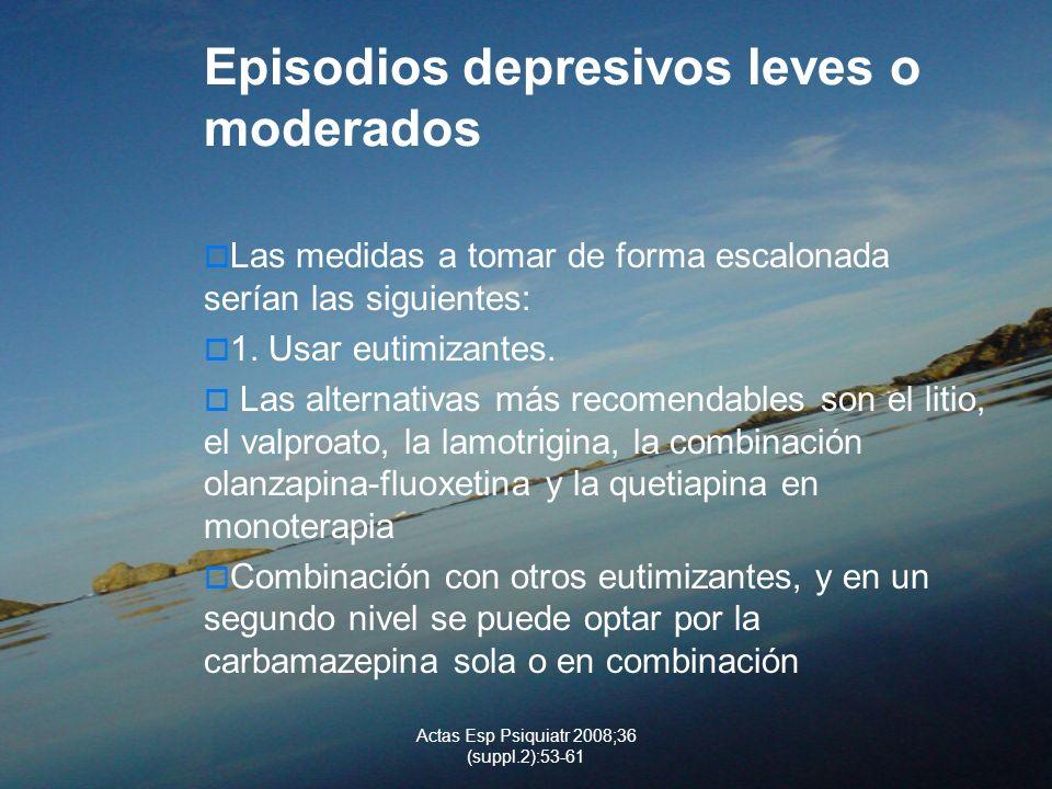 Actas Esp Psiquiatr 2008;36 (suppl.2):53-61