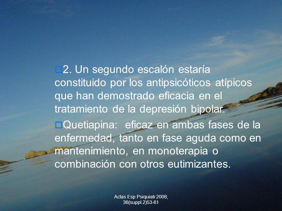 Actas Esp Psiquiatr 2008; 36(suppl.2)53-61