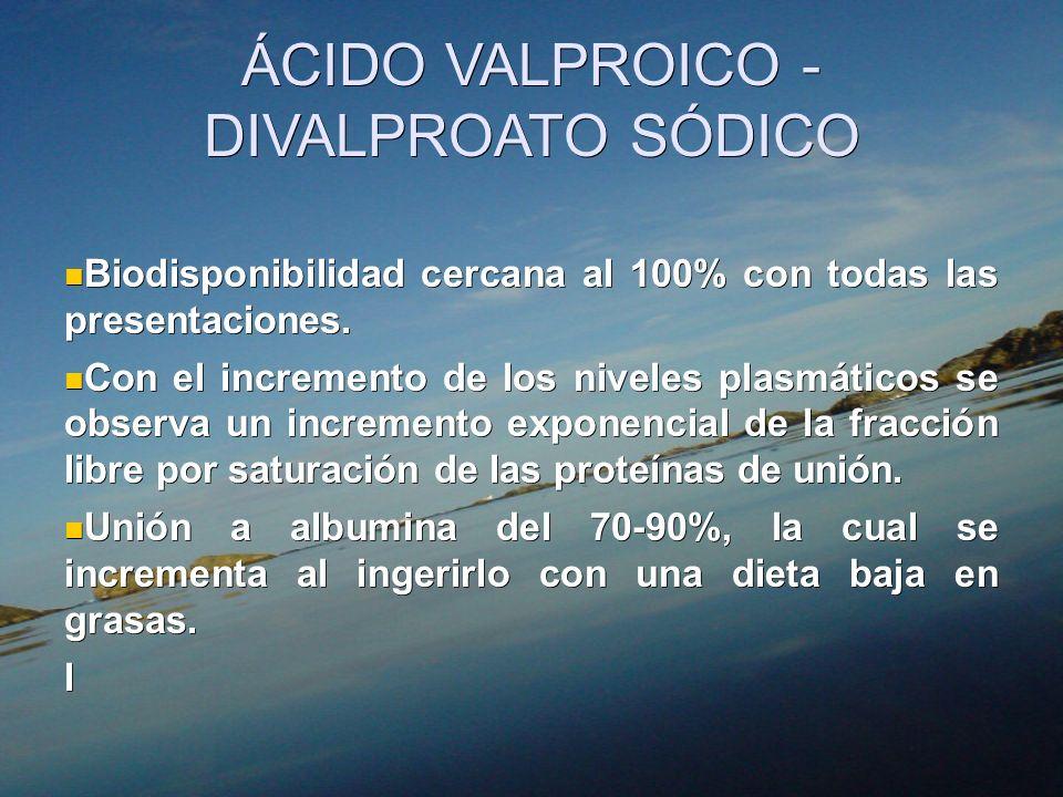 ÁCIDO VALPROICO - DIVALPROATO SÓDICO