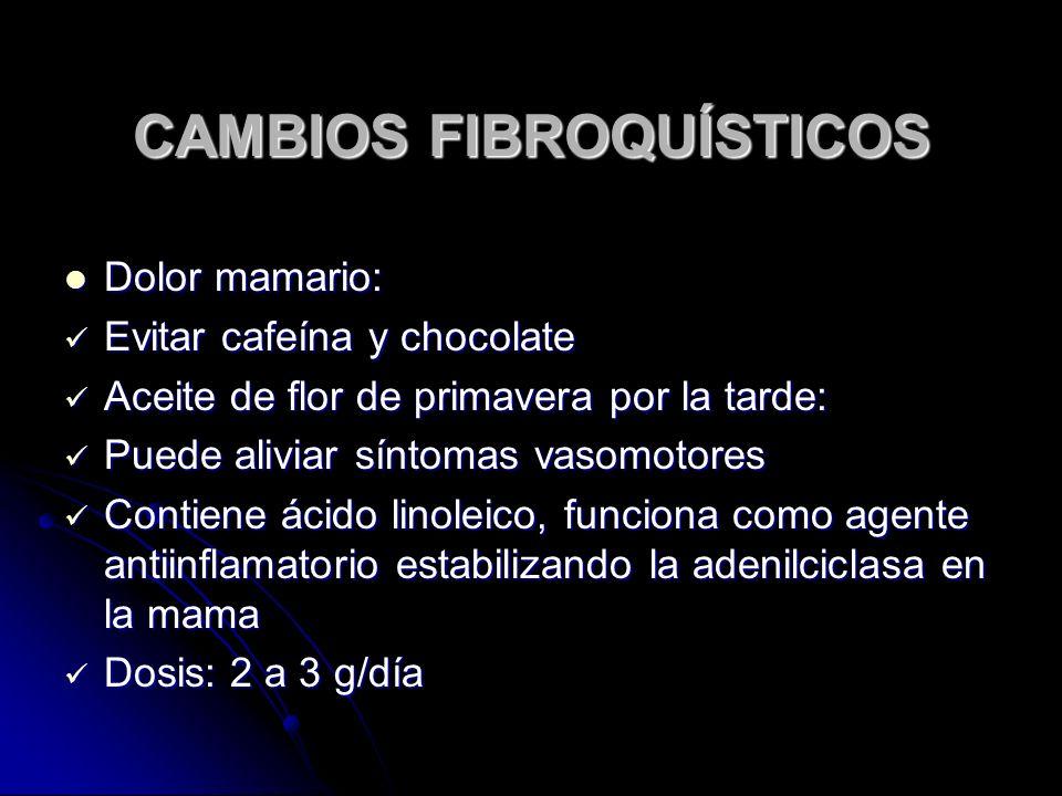 CAMBIOS FIBROQUÍSTICOS