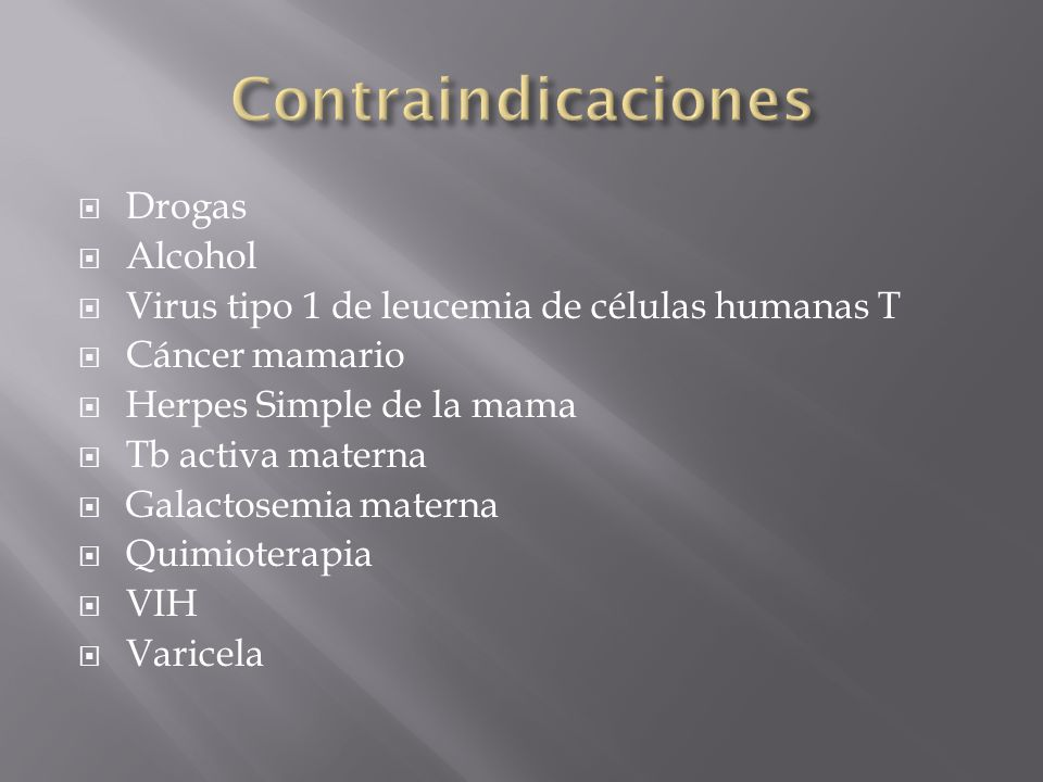 Contraindicaciones Drogas Alcohol