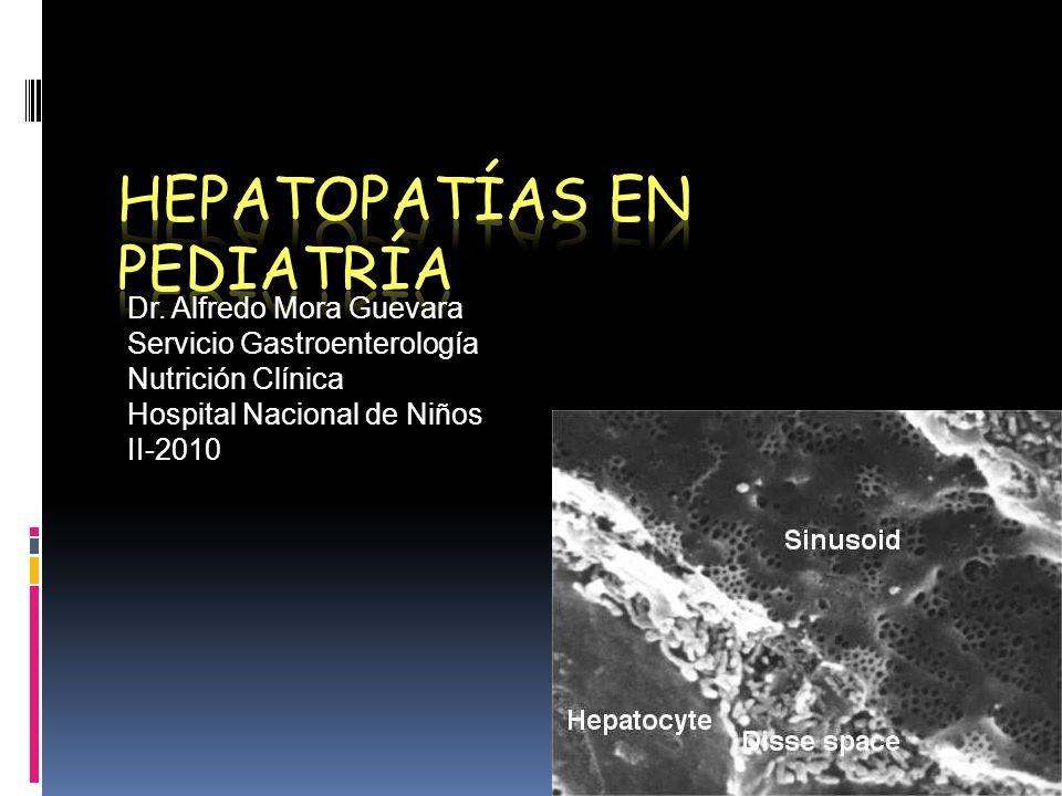 Hepatopatías en Pediatría