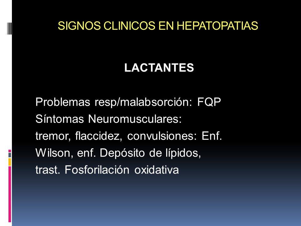 SIGNOS CLINICOS EN HEPATOPATIAS