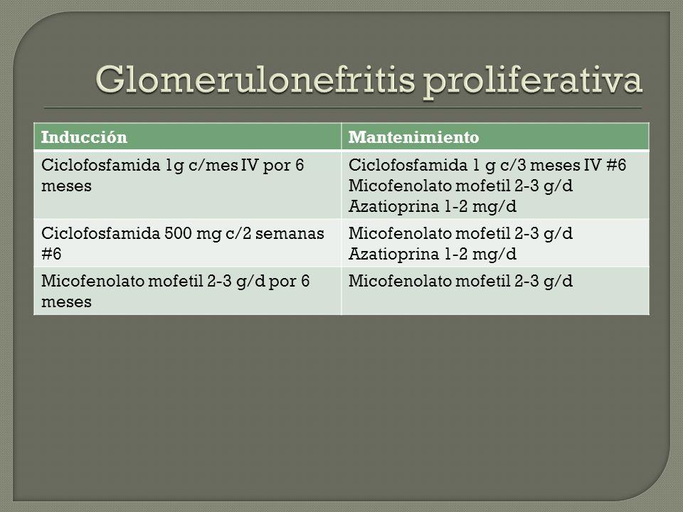 Glomerulonefritis proliferativa