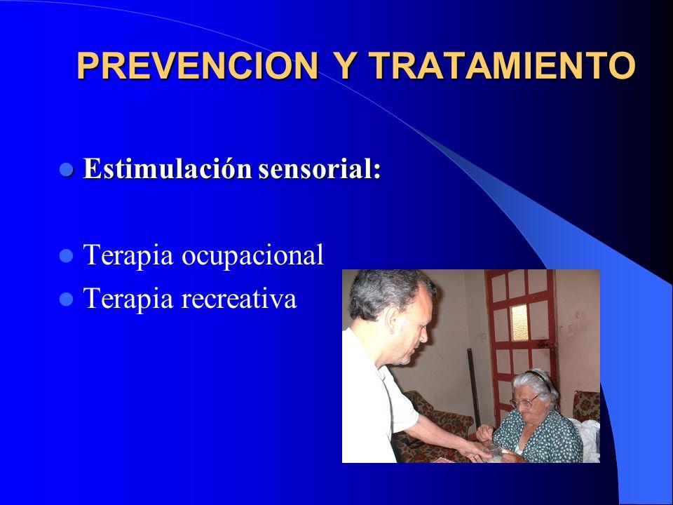PREVENCION Y TRATAMIENTO