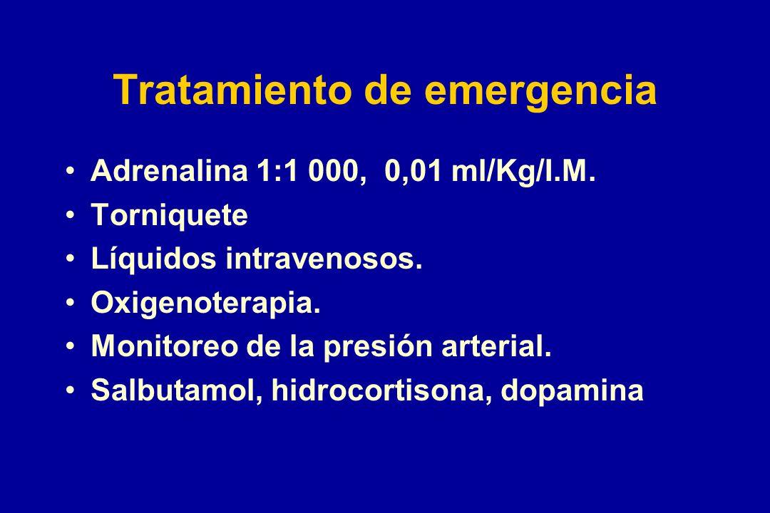 Tratamiento de emergencia