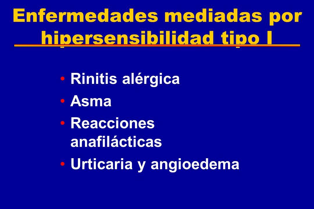 Enfermedades mediadas por hipersensibilidad tipo I