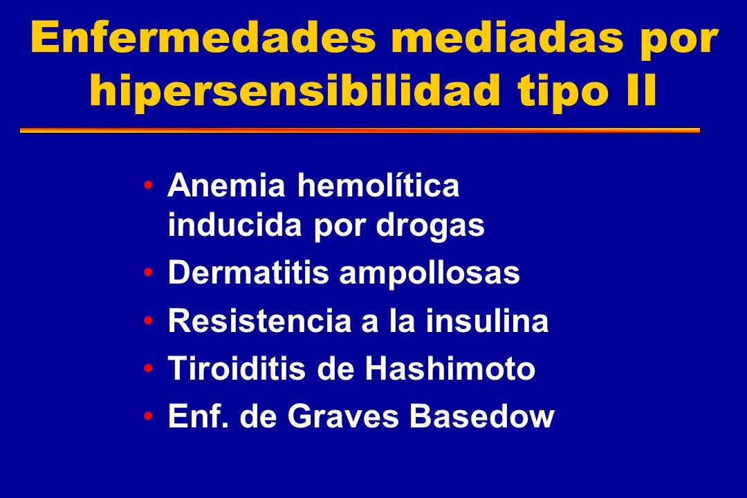 Enfermedades mediadas por hipersensibilidad tipo II