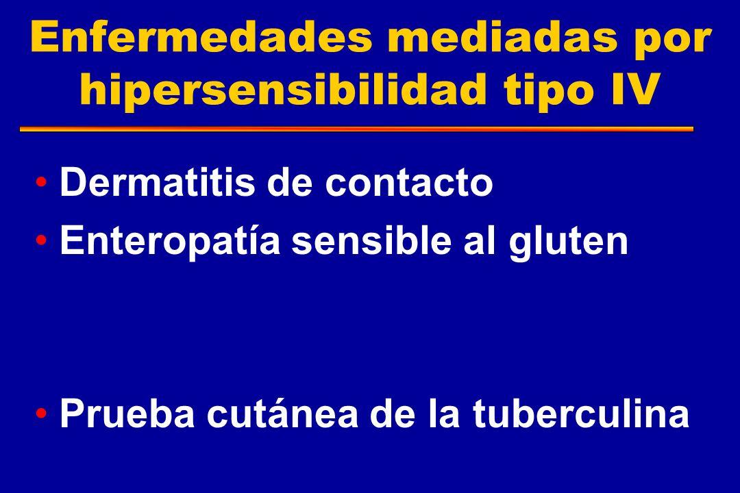 Enfermedades mediadas por hipersensibilidad tipo IV