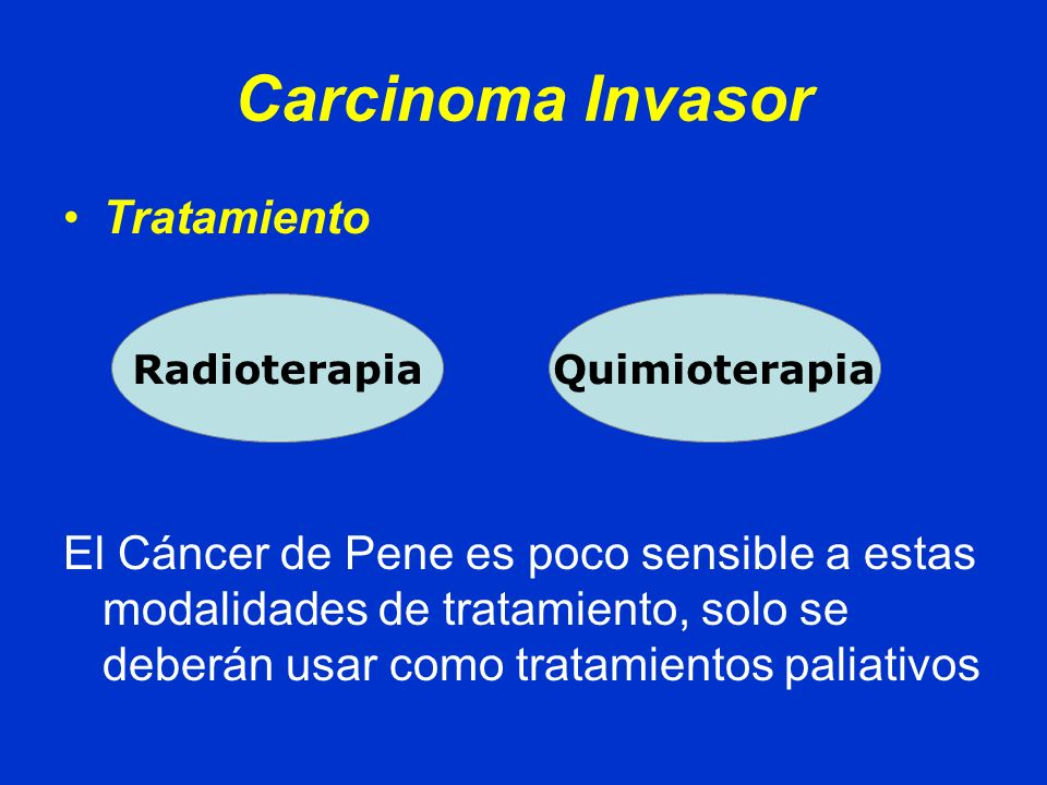 Carcinoma Invasor Tratamiento