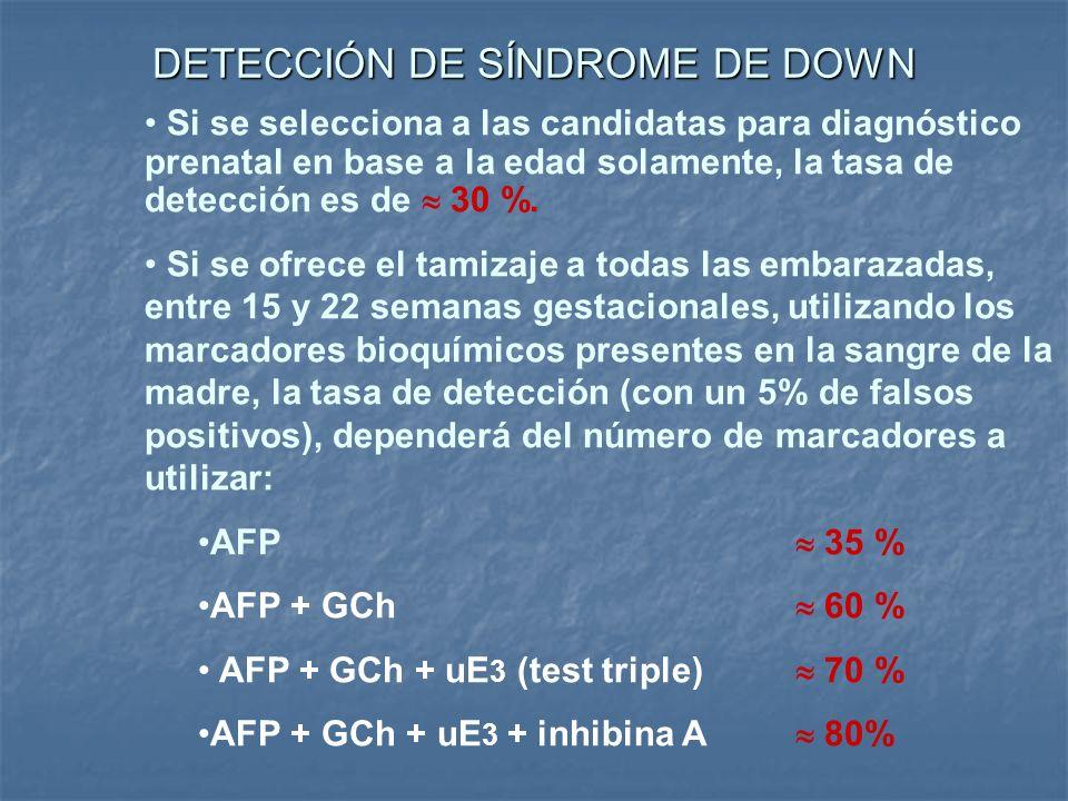 DETECCIÓN DE SÍNDROME DE DOWN