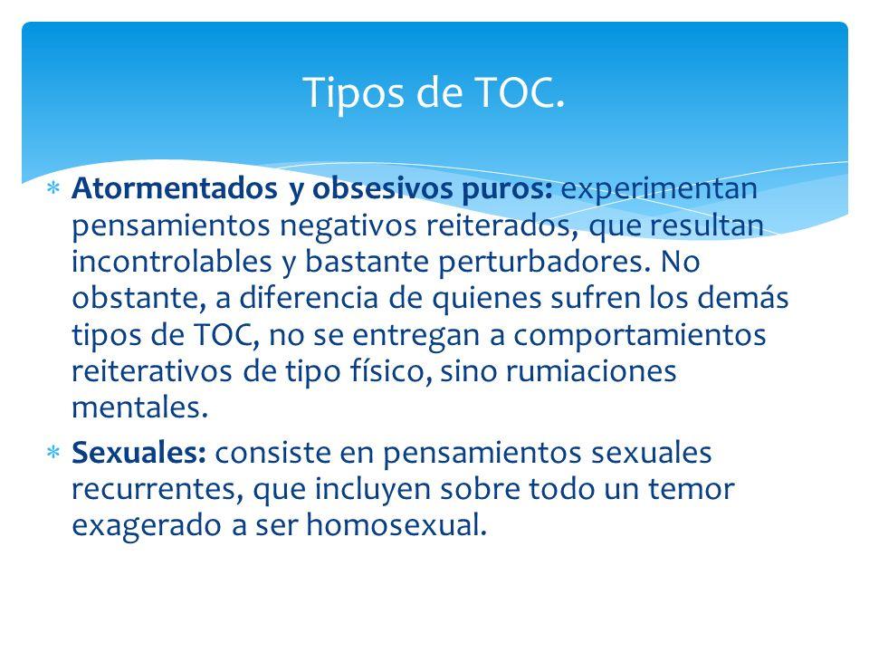 Tipos de TOC.