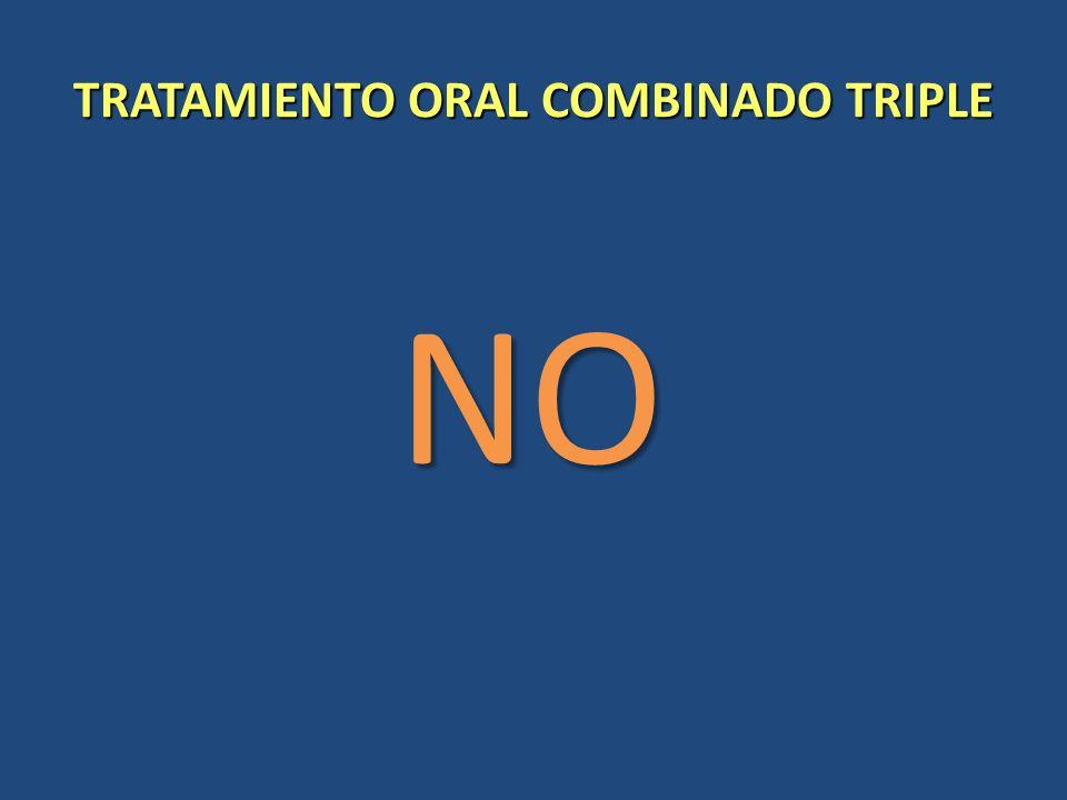 TRATAMIENTO ORAL COMBINADO TRIPLE