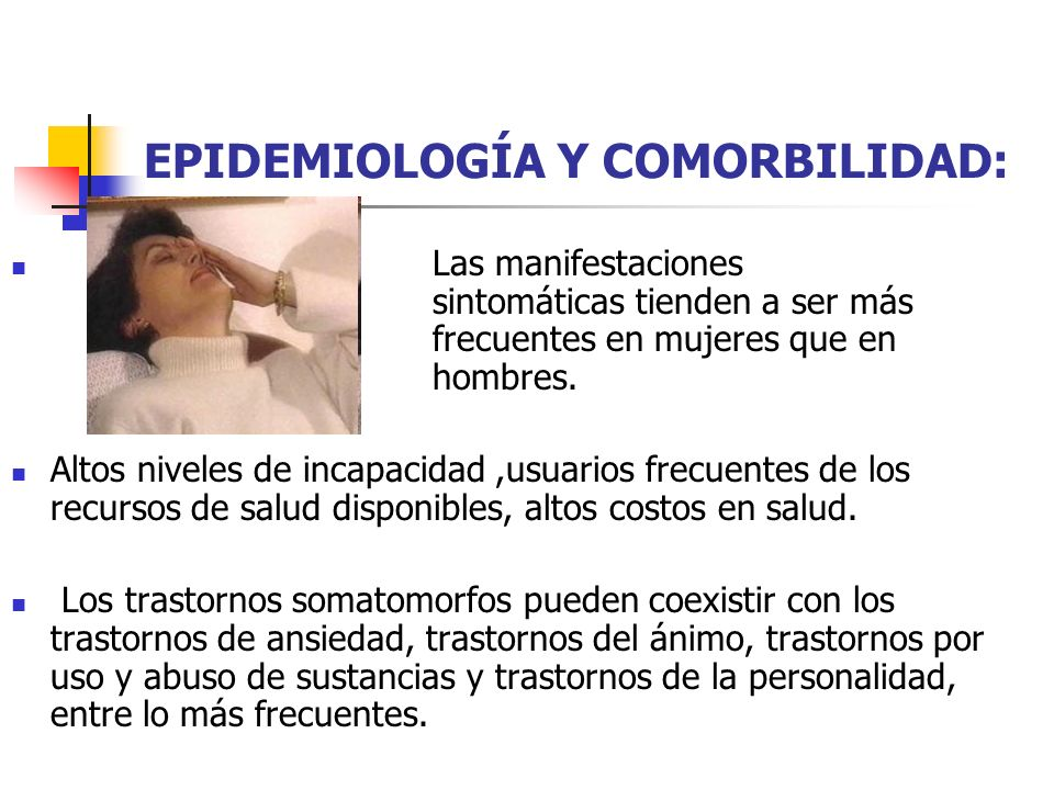 EPIDEMIOLOGÍA Y COMORBILIDAD: