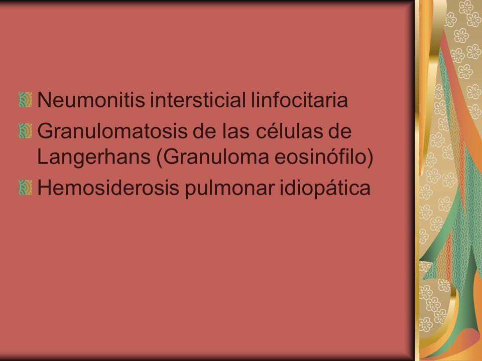 Neumonitis intersticial linfocitaria