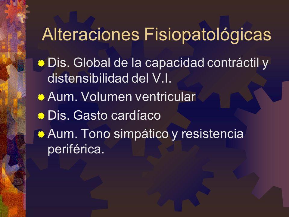 Alteraciones Fisiopatológicas