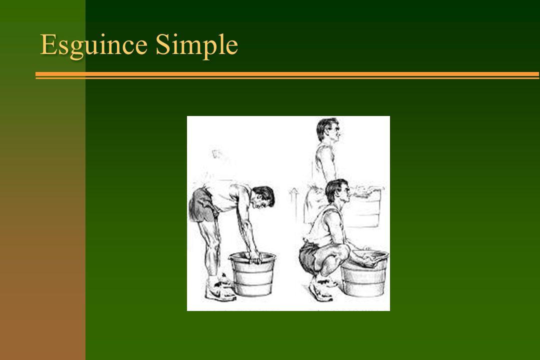 Esguince Simple